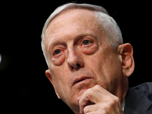 Mattis says China's crackdown on Hong Kong protesters is a sign of China's dangerous ambitions
