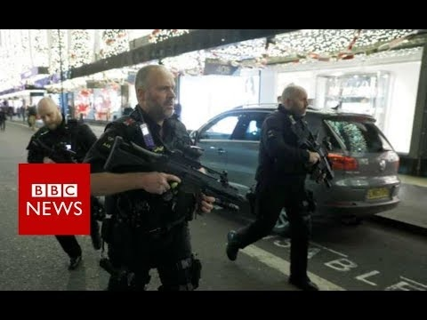 London Police Respond To Reports of Gunfire At Oxford Circus Metro Station