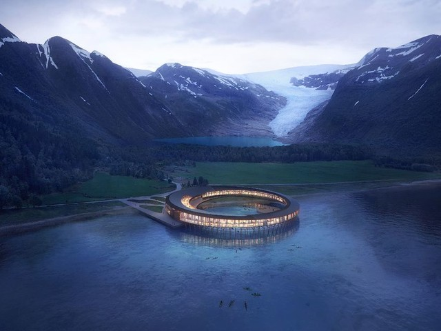 Incredible hotel set to open in the Arctic Circle has seriously amazing eco-friendly features