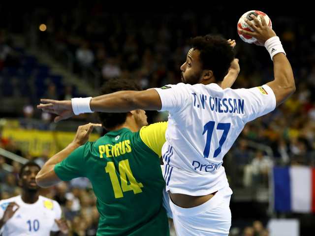 France start defence of IHF Men's Handball World Championship with victory over Brazil