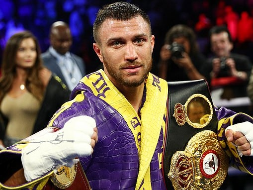 Vasyl Lomachenko calls outMikey Garcia after beating Anthony Crolla