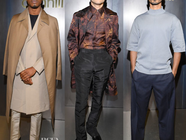 Front Row @ dunhill Fall 2019