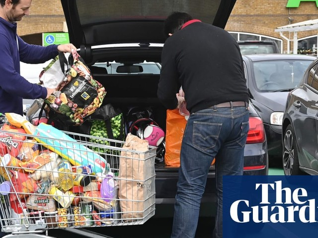 Britons made 80m extra grocery shops in less than a month