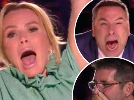 Britain's Got Talent EXC: The judges can't bear to look at VERY bendy contortionist