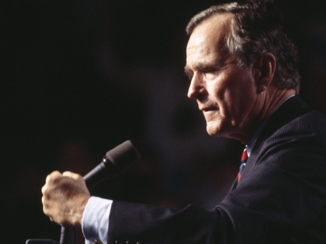 Former President George H.W. Bush Has Died At Age 94