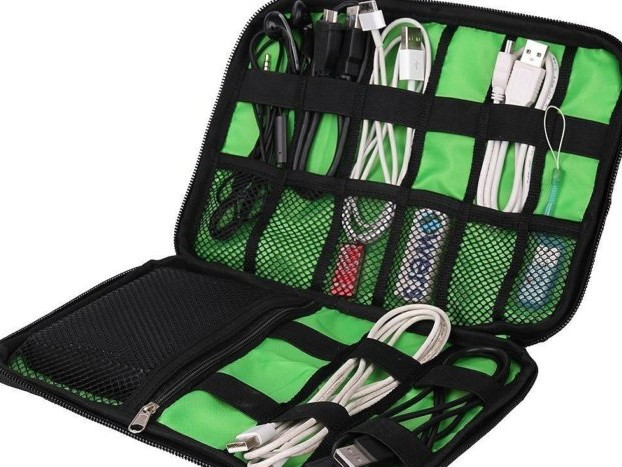 53% off Cable Organizer Electronics Accessories Travel Bag - Deal Alert