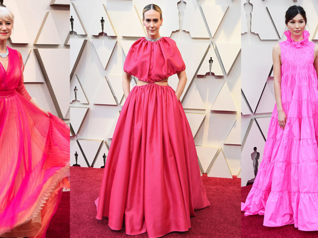 Oscars 2019 Red Carpet: Where To Buy Hot Pink On The High Street