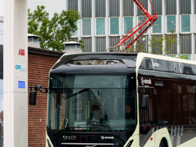 ABB powers 450kW fast charging for electric buses in Gothenburg