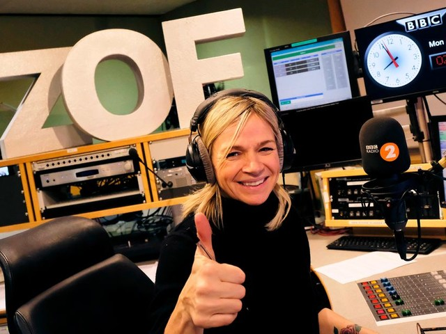 Zoe Ball's daughter Nelly snubs her new Radio 2 show to ring Greg James on Radio 1