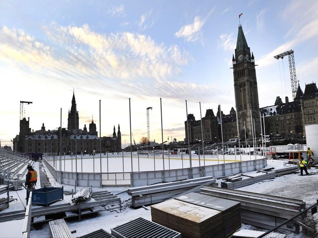 No hockey, triple jumps allowed on $5.6M Canada 150 ice rink on Parliament Hill