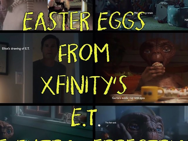 20 Easter Eggs In The Xfinity E.T. The Extra Terrestrial Ad