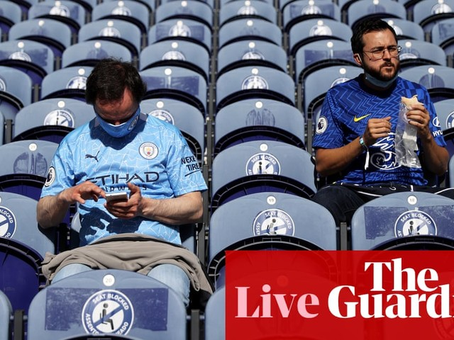 Manchester City v Chelsea: Champions League final – live!