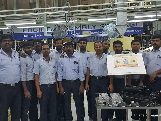 Hyundai AH2 engine enters production – To power the new Santro