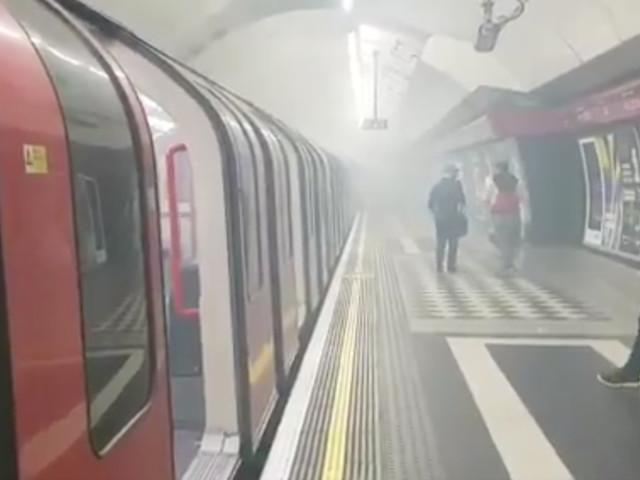 Holborn Station Evacuated Following Fire Alert As Smoke Fills Platform