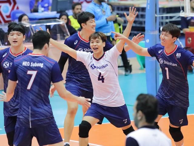 South Korea shock Japan at Asian Men's Volleyball Championship