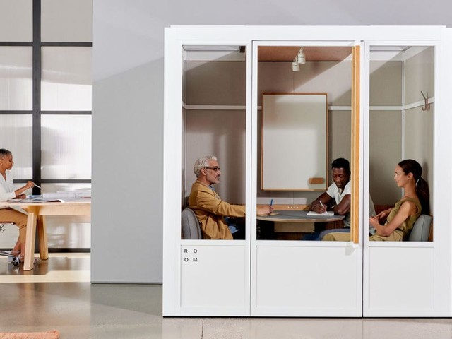 The startup that made office phone booths for Google, Uber, and NASA is selling modular work pods — see inside