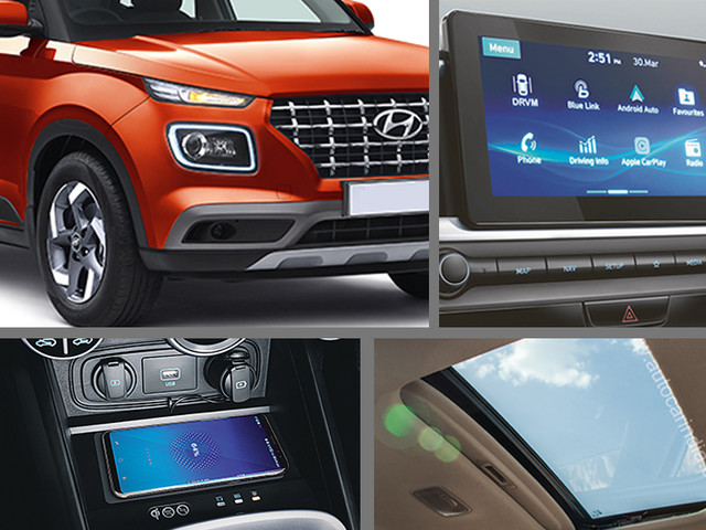 Features comparison: Hyundai Venue vs rivals