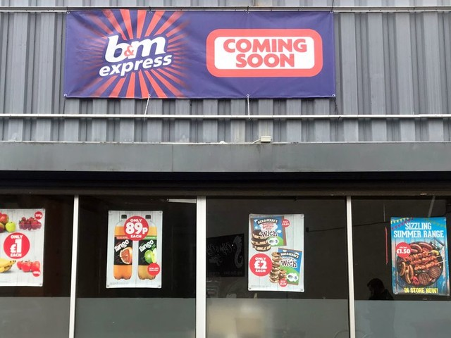 A new B&M Express convenience shop is opening in Bristol