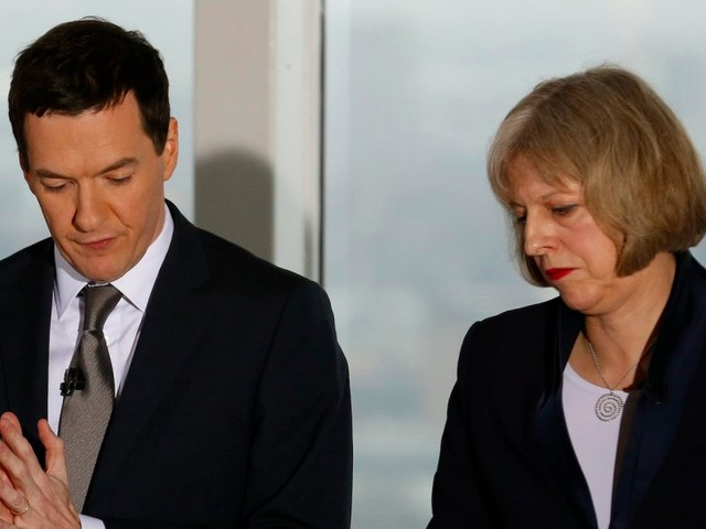 MPs round up on George Osborne for 'vile' comments about Theresa May