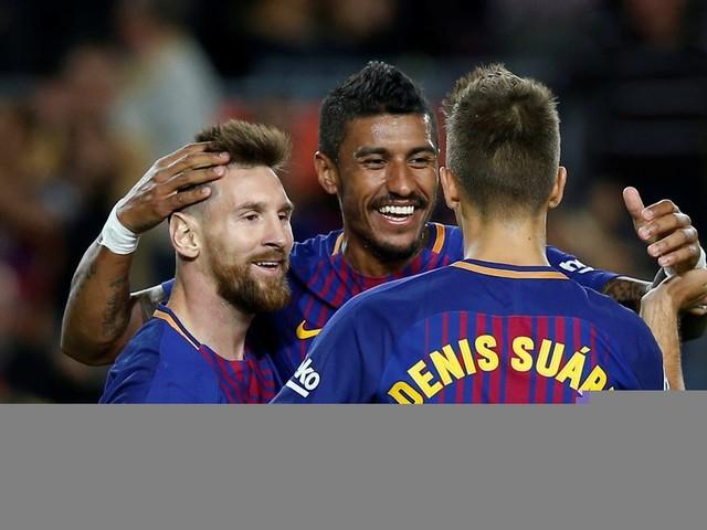 Barcelona 6-1 Eibar: Lionel Messi scores four as Valverde's men go clear at the top - 5 talking points