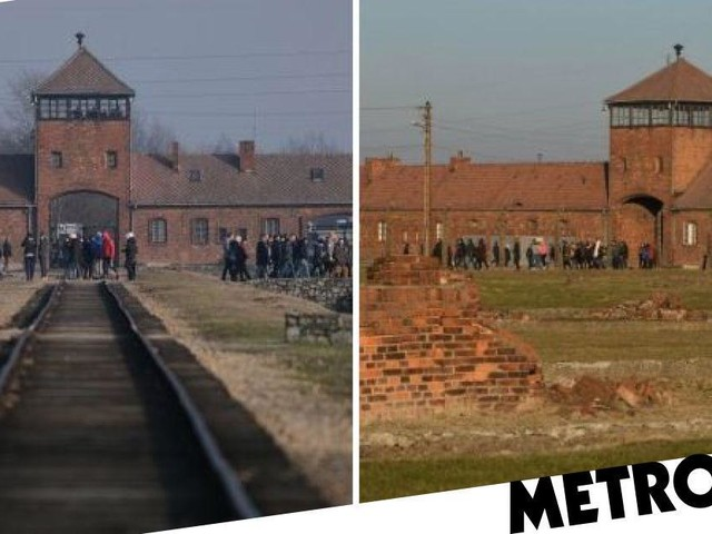 US tourist tried to steal part of Auschwitz train track to take home as souvenir
