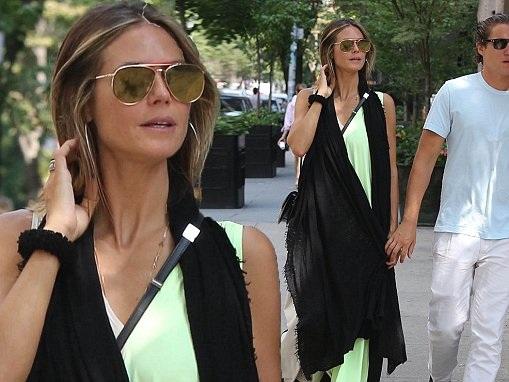 Heidi Klum enjoys romantic stroll with beau Vito Schnabel