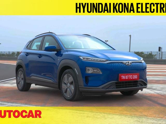 Review: 2019 Hyundai Kona Electric India video review