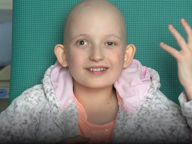 Pioneering proton beam therapy for 10-year-old girl