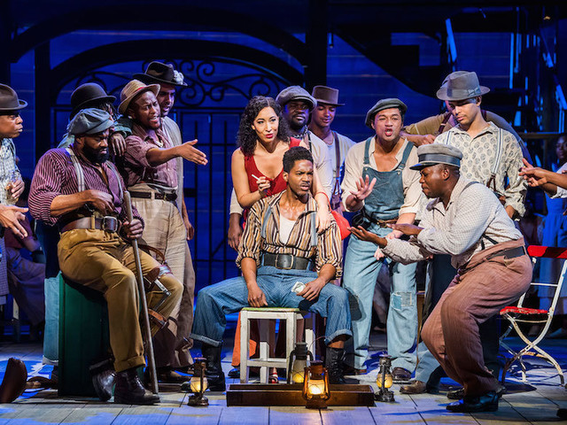 A Grandstanding Production Of Porgy And Bess At London Coliseum