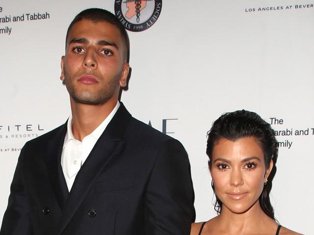 Kourtney Kardashian Steps Out with Model Luka Sabbat, 20