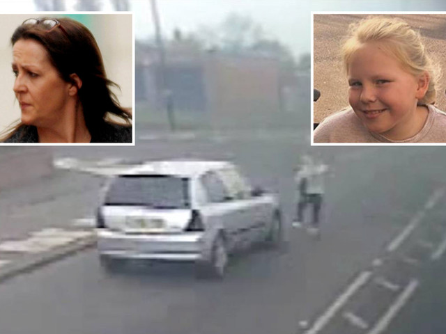 Horrifying moment girl, 10, mowed down in hit-and-run while walking home from school