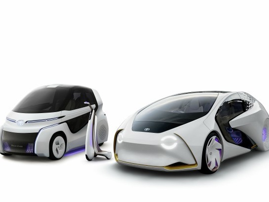 Toyota Provides Glimpse Into Its Mobility Future With The Concept-i Series