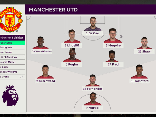 We simulated Manchester United vs Southampton to see what might happen
