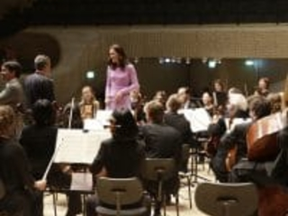 First pic: Princess Kate conducts German orchestra