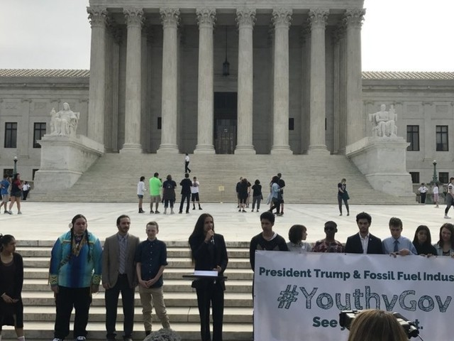 Youth Suing Trump Bring Climate Fight To Washington