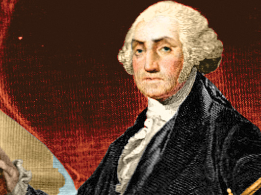 Here's what it was like to be George Washington, who was dethroned as the richest president in US history
