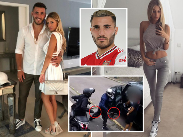 Arsenal ace Sead Kolasinac's wife held by cops at airport for bringing a stun gun into the UK