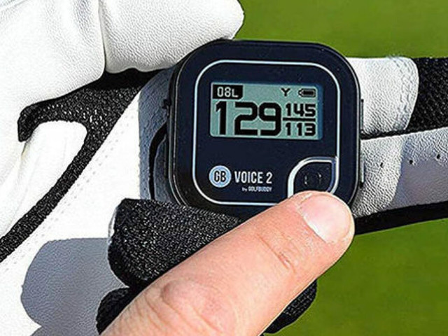 Improve your golf game with a GPS rangefinder on sale