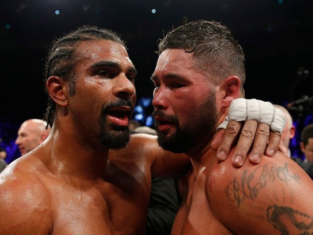 David Haye OUT of Tony Bellew rematch after suffering arm injury in training for December 17 bout