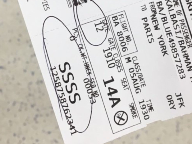 This Is What It Means If You Have 'SSSS' Written On Your Boarding Pass