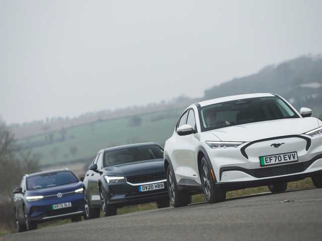 Taking charge: VW ID 4 and Ford Mustang Mach-e meet Polestar 2