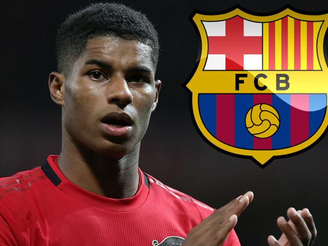 Barcelona interested in Man Utd striker Marcus Rashford if they cannot land primary targets