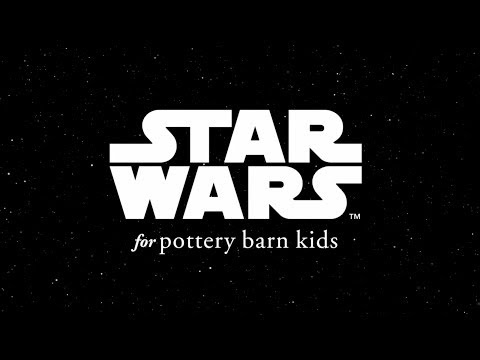 Galactic Furniture Items - This Pottery Barn Ad Shows the Processes Behind the Star Wars Collection (TrendHunter.com)
