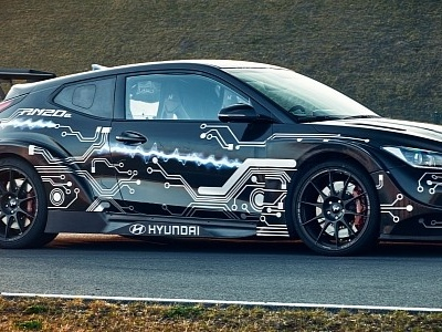 Hyundai Eyeing Electric Hot Hatchback With RWD, Prototype Packs 800 HP