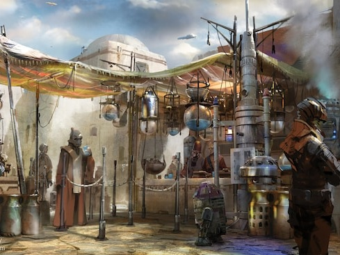 Disneyland Resort's No-Cost Reservations for Star Wars: Galaxy's Edge