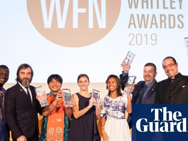 Environmental heroes: the 2019 Whitley Award winners