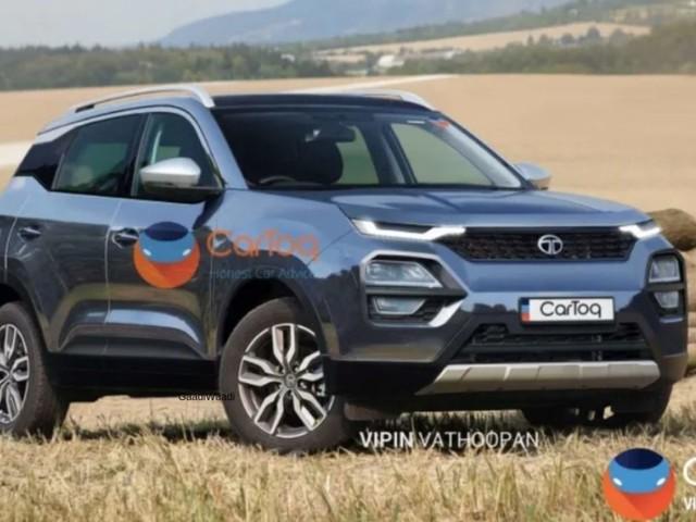 Upcoming Tata Blackbird SUV (Hyundai Creta Rival) May Look Like This