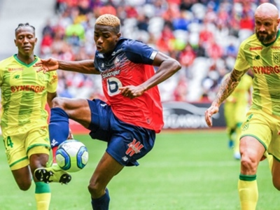 Chadrac Akolo outshines Victor Osimhen in Lille's defeat to Amiens