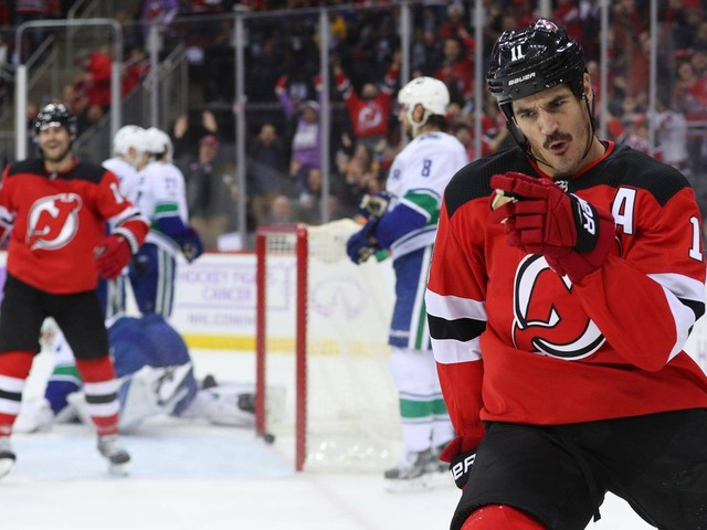 Canucks fall to Devils as Brian Boyle scores emotional goal