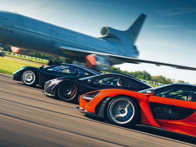 Flat out in McLaren's ultimate trio: F1 vs P1 vs Senna